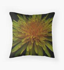 Yellow Magic Of The Solaris Throw Pillow
