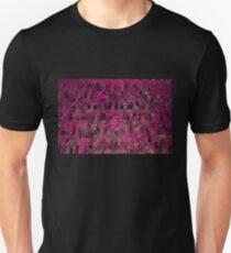 Pink Abstract Blocks T-Shirt