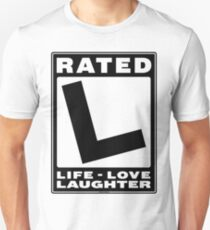 Rated L for Life T-Shirt