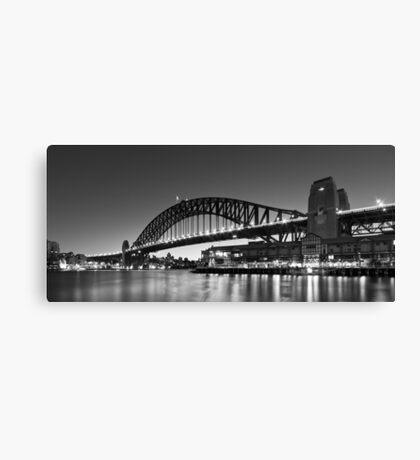 Towards the Bridge Canvas Print
