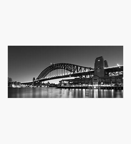 Towards the Bridge Photographic Print