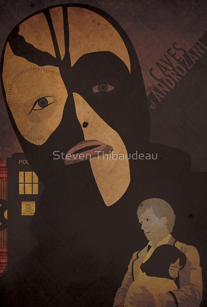 Doctor Who 135 The Caves of Androzani by Steven Thibaudeau