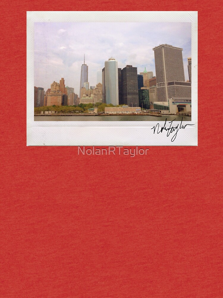 New York Skyline Polaroid by NolanRTaylor
