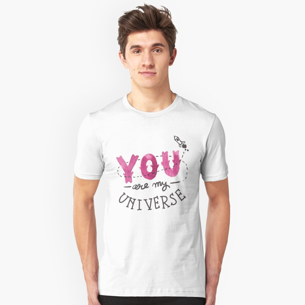You are my universe Slim Fit T-Shirt
