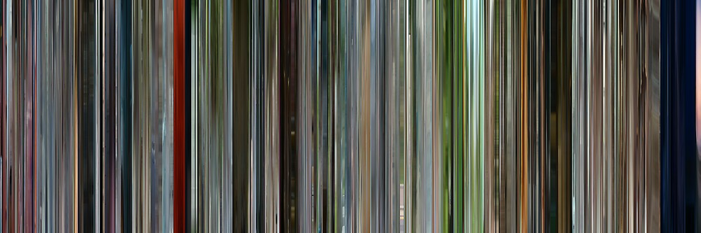 Moviebarcode: I'm a Cyborg, But That's OK (2006) by moviebarcode