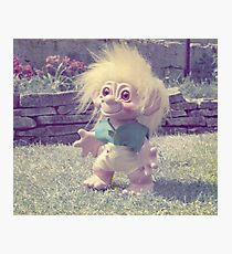 Paddy the Troll. Photographic Print
