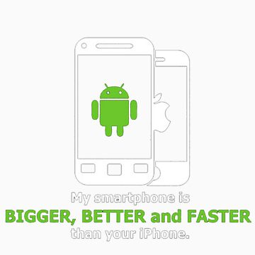 My smartphone is better by Blubb
