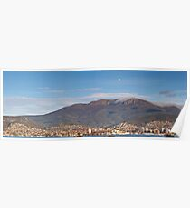 Hobart and Mount Wellington, Tasmania Poster