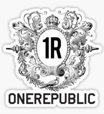 OneRepublic- Logo Emblem Sticker