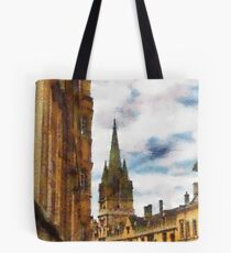 University church of St Mary The Virgin, Oxford Tote Bag