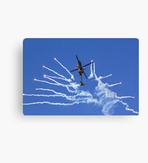 RNLAF AH-64D APACHE DEMO TEAM  Canvas Print
