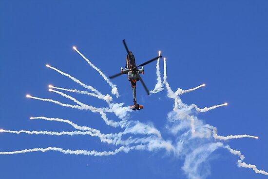 RNLAF AH-64D APACHE DEMO TEAM  by DutchLumix