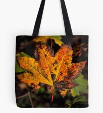Almost Done ~ Maple Leaf ~ Tote Bag