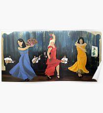 Flamenco scene Poster