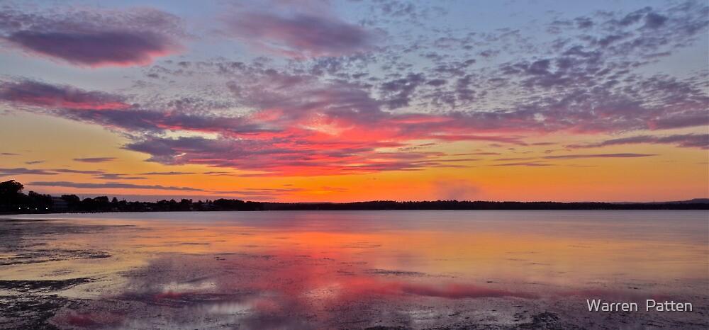 Sunset in Spring...17-9-11. by Warren  Patten