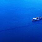 ship at sea by lensbaby