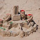 9 11 Sandcastle Tribute by Renee D. Miranda