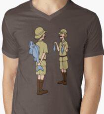 Fish Slapping Dance Men's V-Neck T-Shirt