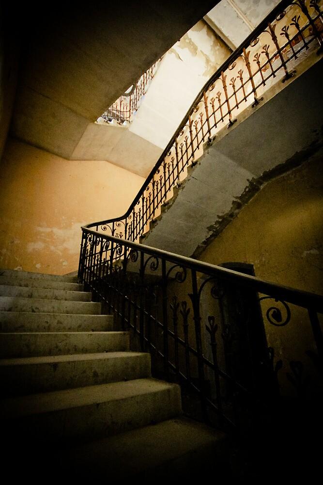 Upstairs by Richard Pitman
