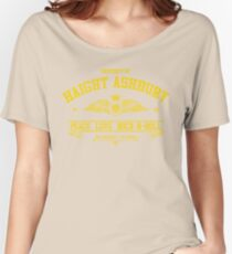 Property of Haight Ashbury - Peace-Love-Rock and Roll Women's Relaxed Fit T-Shirt