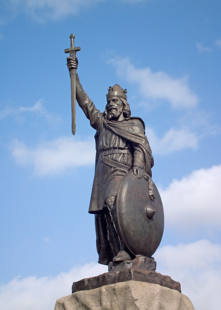 Quot Statue Of King Alfred The Great Winchester Uk Also