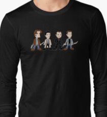 Sam, Dean, Castiel, Crowley Long Sleeve T-Shirt