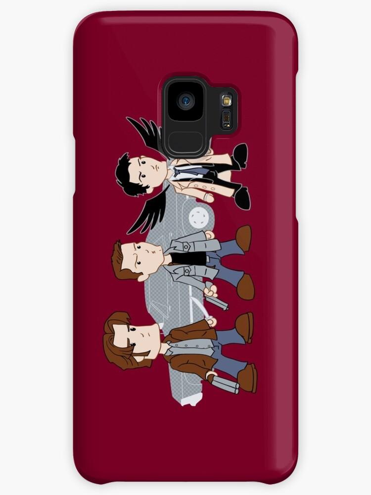 Sam, Dean, Castiel by rexraygun