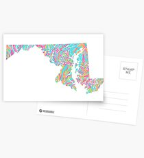 Lilly States - Maryland Postcards