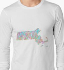Lilly States - Massachusetts Long Sleeve T-Shirt