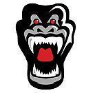 Gorilla Head by Cameron Kinchen