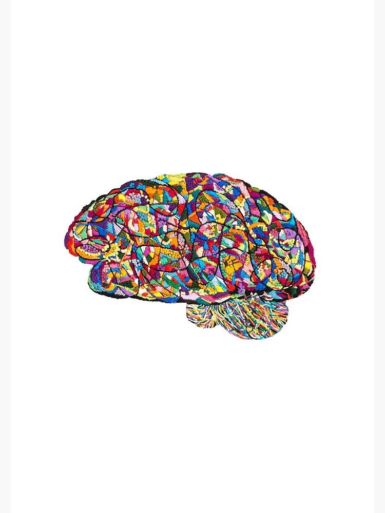 Riot Neuro artwork by Laura Bundesen by Laurabund