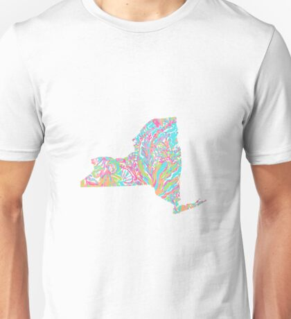 Lilly States - New York Unisex T-Shirt