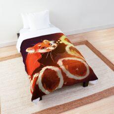 Colcha Panda rojo