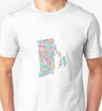 Lilly States - Rhode Island Unisex T-Shirt