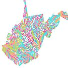 Lilly States - West Virginia by MarcoD