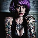 Kandy K - 5 tattoo by Andrew Johnson