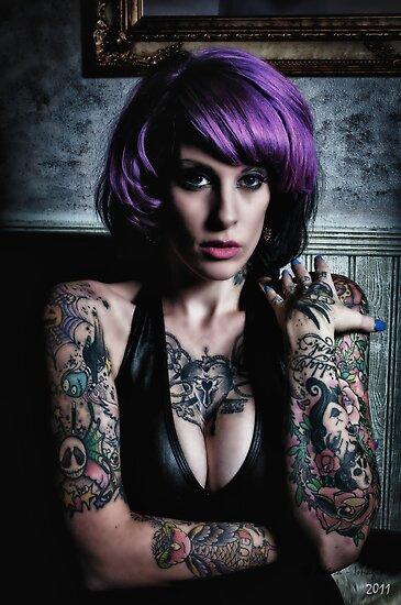 """Kandy K - 5 Tattoo"" By Andrew Johnson"