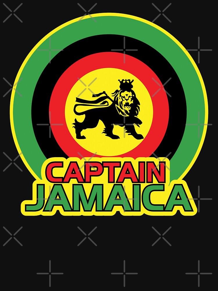 Captain Jamaica by DetourShirts