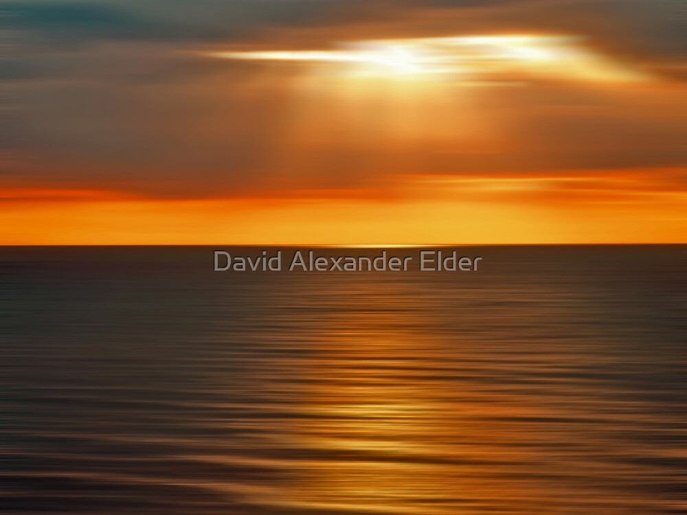 Heavenly Burst by David Alexander Elder