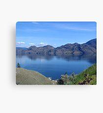 Lake Okanagan Canvas Print