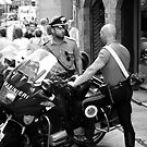 peoplescapes #357, carabinieri by stickelsimages