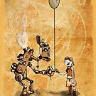 Robot Balloon by BunnyMaelstrom