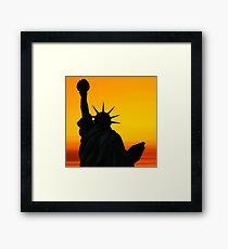 Liberty Dawn Framed Print