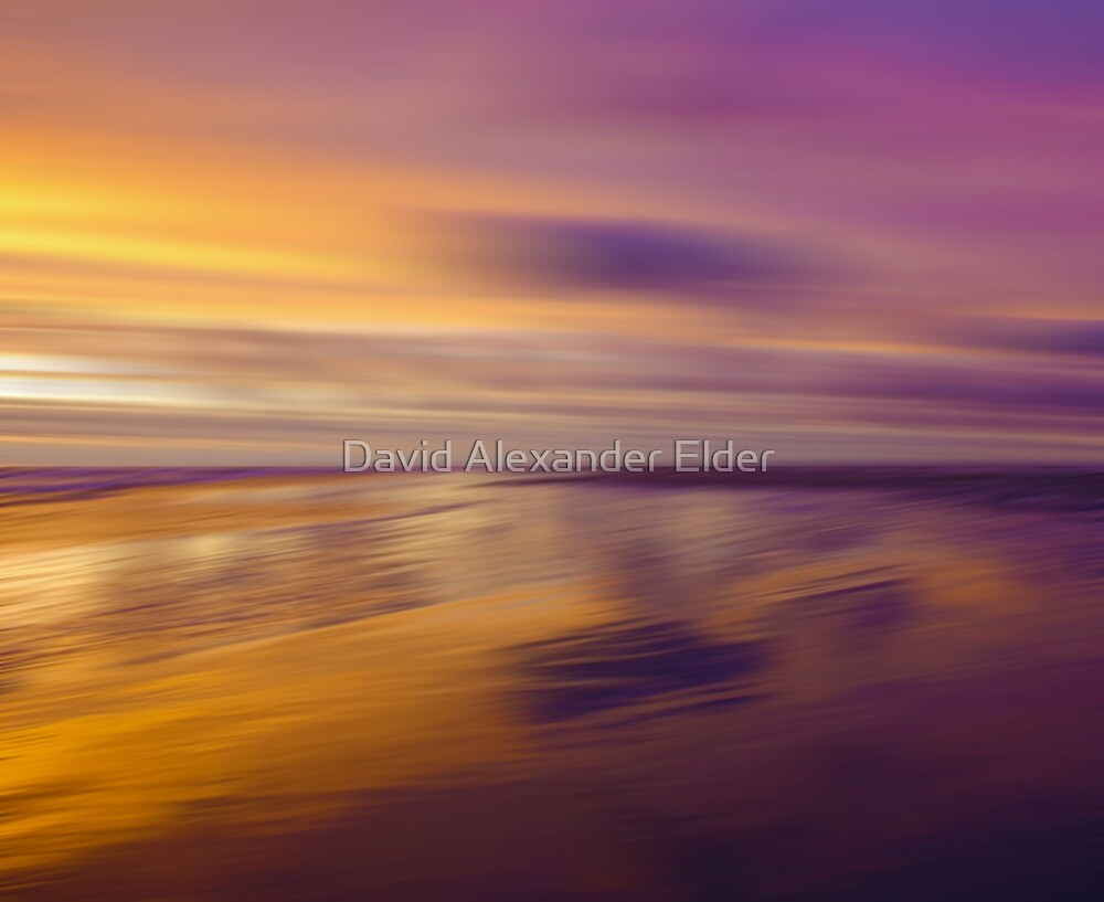 Lilac Evening by David Alexander Elder
