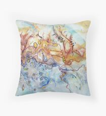Outback Creek Throw Pillow