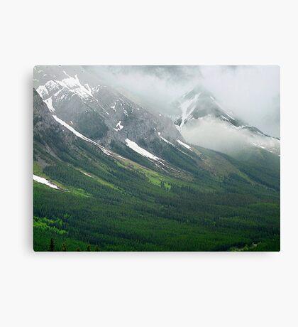 Misty Mountain Realm Canvas Print