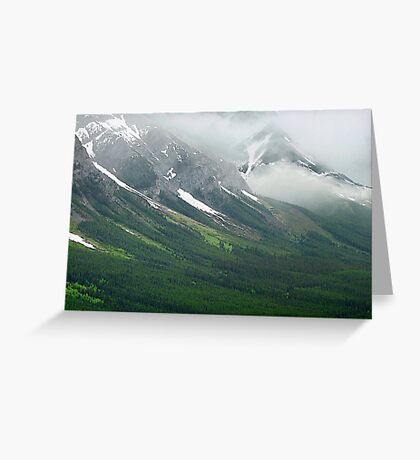Misty Mountain Realm Greeting Card