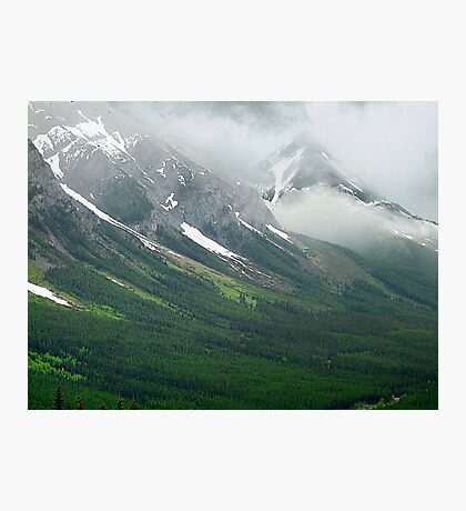 Misty Mountain Realm Photographic Print