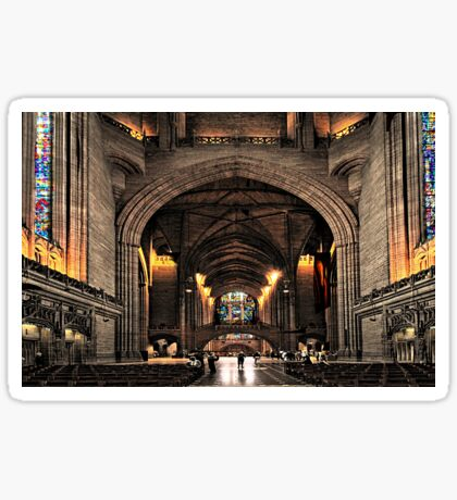 Anglican Cathedral Sticker