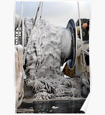 Ice  ~  Commercial Fishing Vessel  Poster